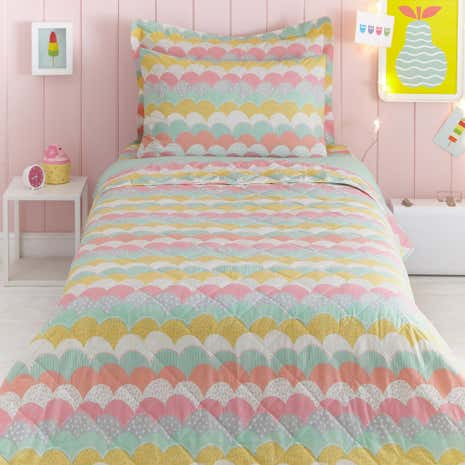 Dream Big Quilted Bedspread