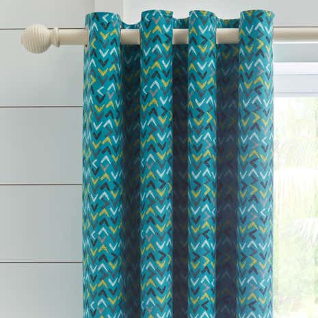 Adventurer Blackout Eyelet Curtains