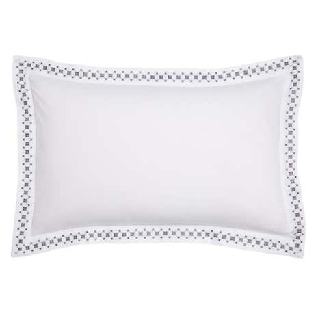 Ameya Grey Oxford Pillowcase