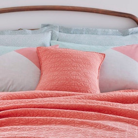 Coral Square Cushion