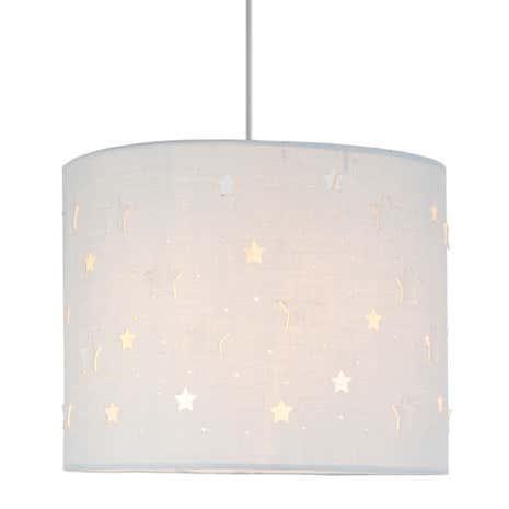 Bathroom Lights Dunelm cut out star grey pendant shade | dunelm