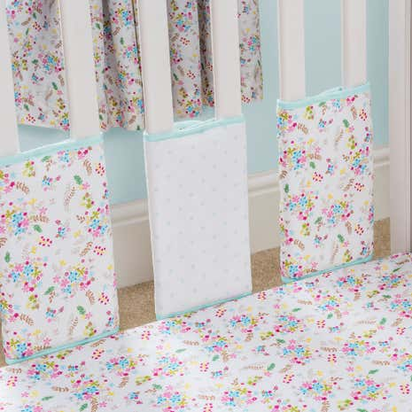 Ditsy Floral Pack of 8 Bumper Bars