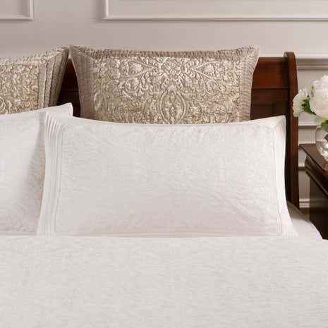 Dorma Charlbury Cream Oxford Pillowcase