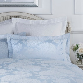 Dorma Hydrangea Blue Secondary Pillowcase