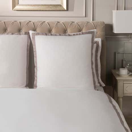 Dorma Maddison Natural Continental Pillowcase