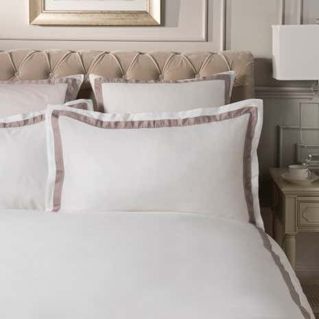 Dorma Maddison Natural Oxford Pillowcase