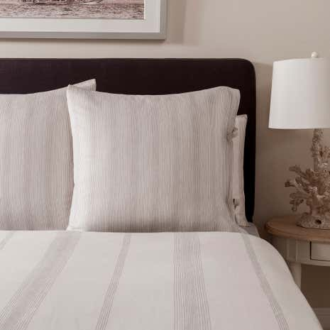 Dorma Marianna Natural Continental Pillowcase