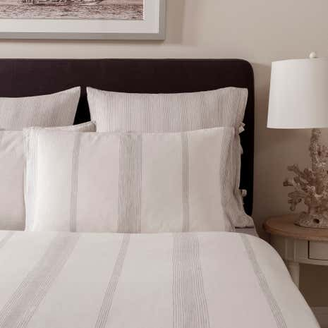Dorma Marianna Natural Cuffed Pillowcase