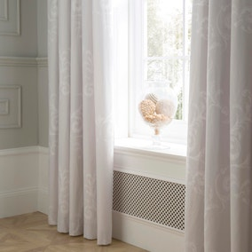 Dorma Palais Grey Blackout Pencil Pleat Curtains