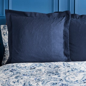 Dorma Vermont Navy Continental Pillowcase