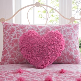 Flutter Heart Cushion