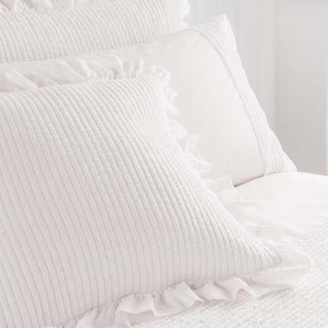 Grace White Oxford Pillowcase