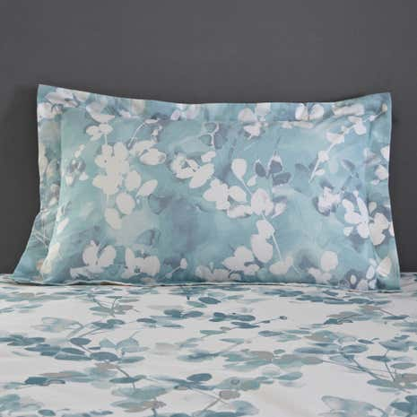 Honesty Teal Oxford Pillowcase