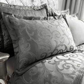 Lucia Silver Oxford Pillowcase
