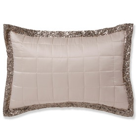 Luna Ombre Sequin Champagne Pillowsham