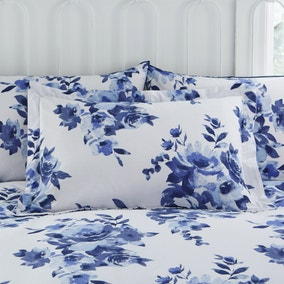 Saria Blue Oxford Pillowcase