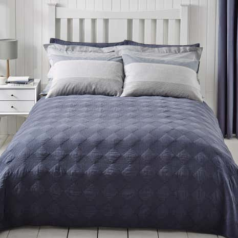 Washed Indigo Bedspread