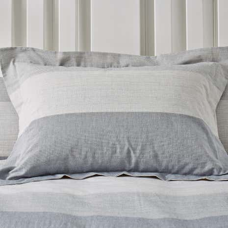 Wentworth Blue Oxford Pillowcase