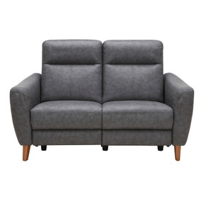 Darwen Charcoal 2 Seater Electric Recliner Sofa
