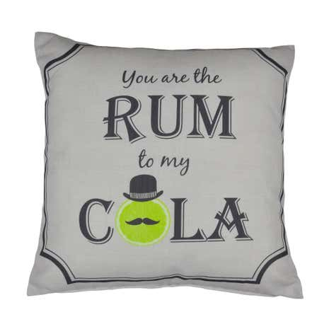 Rum to My Cola Cushion