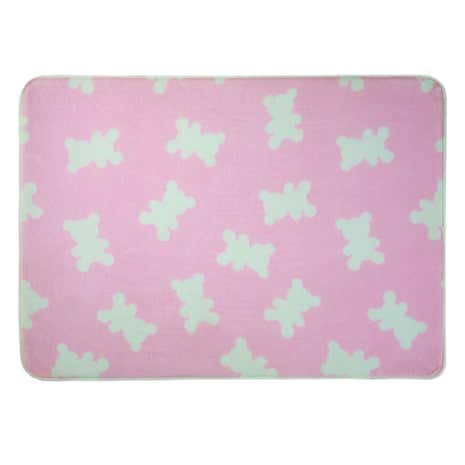 Pink Little Bears Rug