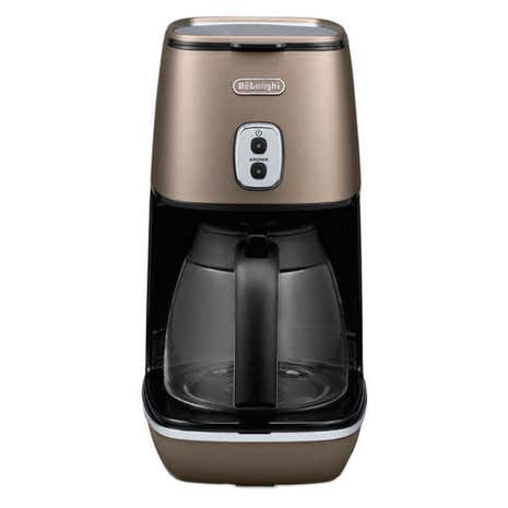 DeLonghi Distinta Bronze Coffee Machine ICMI211BZ