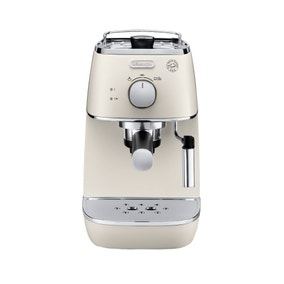 DeLonghi Distinta White Pump Coffee Machine ECI341W