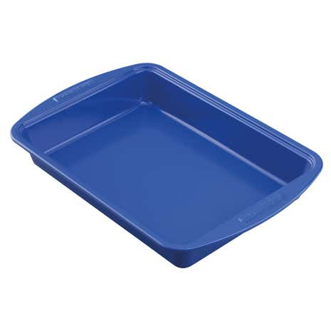 Silverstone Rectangular Blue Cake Pan