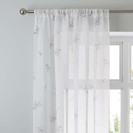 Laura Grey Voile Panel