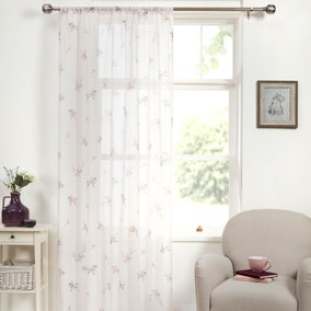 Laura Mauve Voile Panel