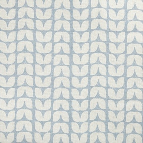 Tulip China Blue Fabric