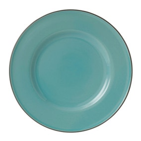 Gordon Ramsay Union Street Cafe Teal Dinner Plate