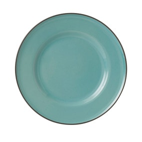 Gordon Ramsay Teal Plate