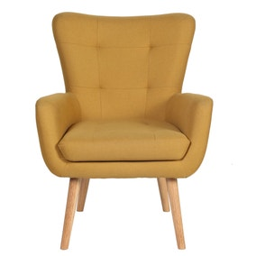 Alva Ochre Chair