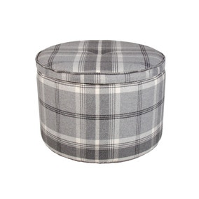 Bailey Balmoral Grey Footstool