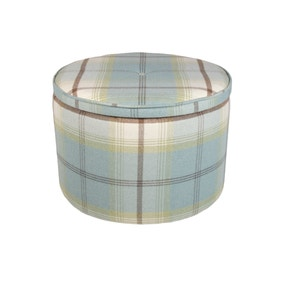 Bailey Balmoral Duck Egg Footstool