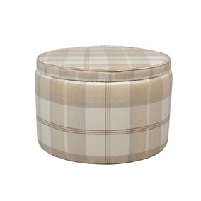 Bailey Balmoral Natural Footstool