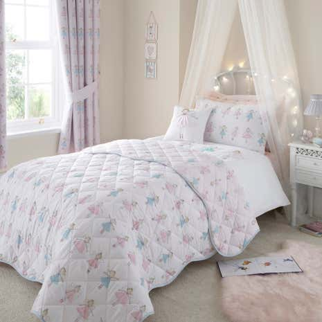 Fairies Pink Bedspread