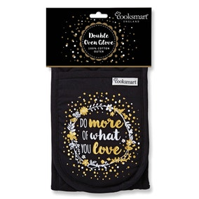 Cooksmart Do More Of What You Love Double Oven Glove