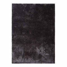 Large Charcoal Indulgence Shaggy Rug