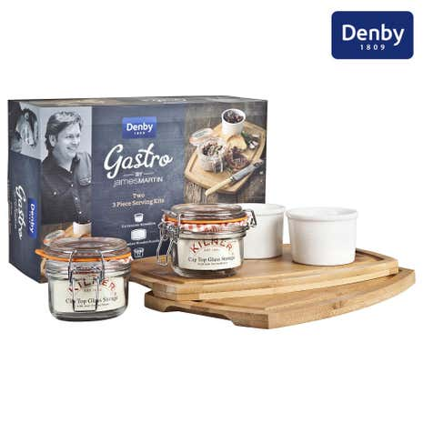 Denby James Martin Gastro 3 Piece Serving Kit