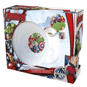 Marvel Avengers 3 Piece Ceramic Set