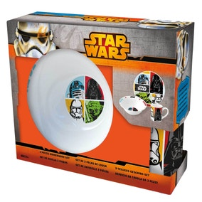 Disney Star Wars 3 Piece Ceramic Set