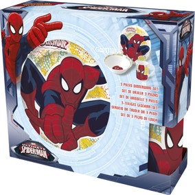 Marvel Spiderman 3 Piece Ceramic Set