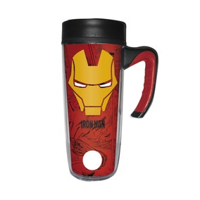 Marvel Iron Man Travel Mug