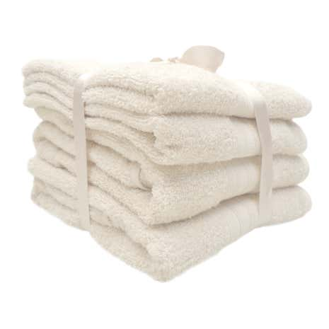4 Piece Natural Towel Bale