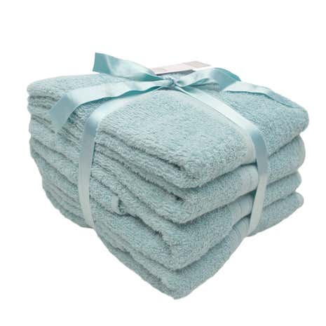4 Piece Teal Towel Bale