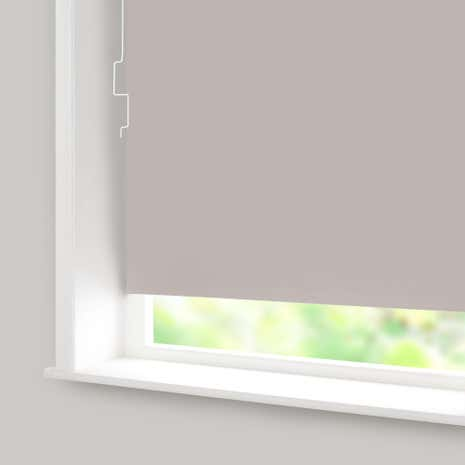 Silver Blackout Cordless Roller Blind
