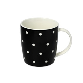 Chicago Black Polka Dot Mug