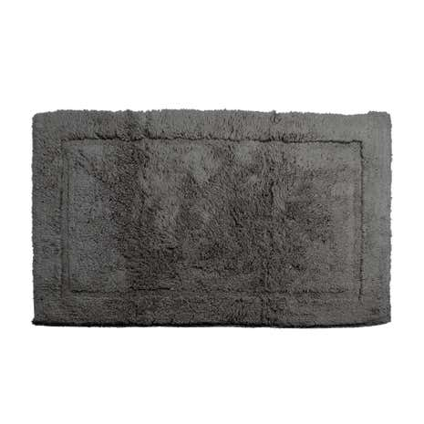 Hotel Ash High Pile Bath Mat